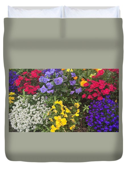 Spring In My Step Duvet Cover