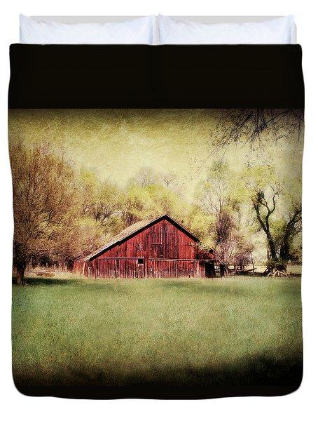 Spring In Nebraska Duvet Cover by Julie Hamilton