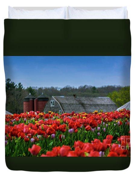 Spring In Rhode Island Duvet Cover