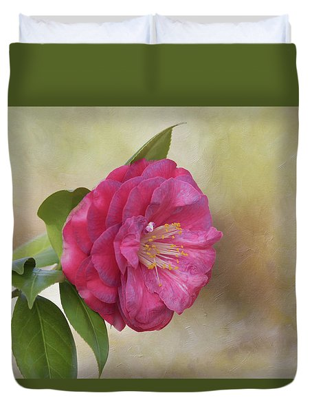 Duvet Cover featuring the photograph Spring In Savannah by Kim Hojnacki