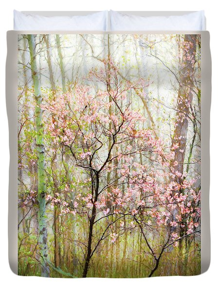 Spring In The Forest Duvet Cover