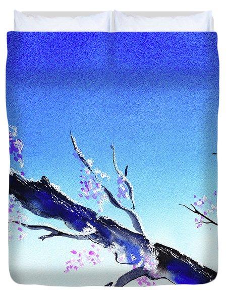 Spring In The Mountains Duvet Cover by Irina Sztukowski