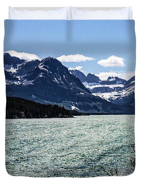 Many Glacier Duvet Cover