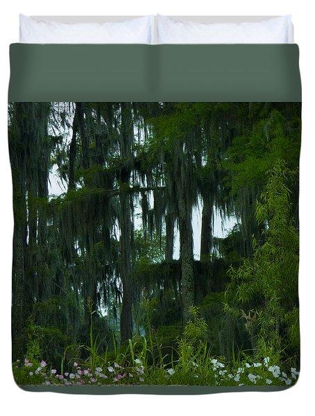 Spring In The Swamp Duvet Cover by Kimo Fernandez
