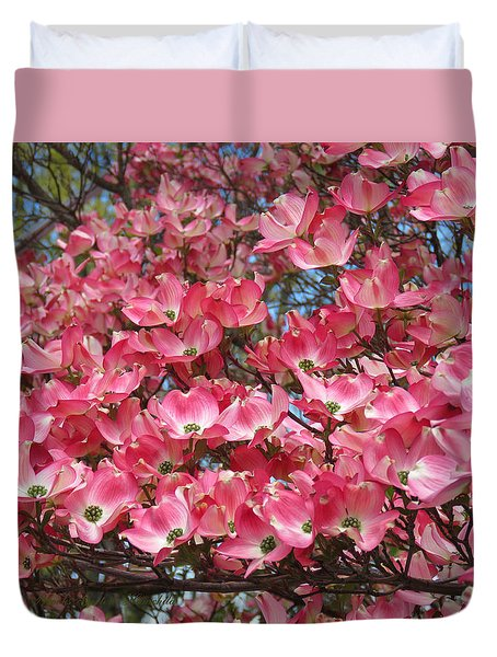 Duvet Cover featuring the photograph Dogwood Days Of Spring by Brooks Garten Hauschild