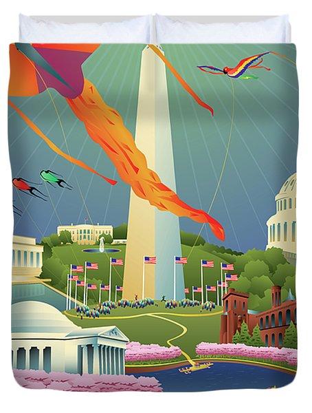 Spring In Washington D.c. Duvet Cover