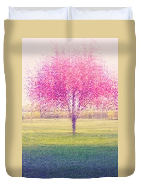 Spring Is A Blur Duvet Cover