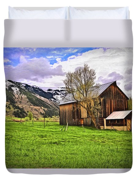 Spring Is All Ways A Good Time Of The Year Duvet Cover