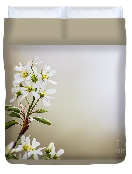 Spring Is Bursting Out All Over Duvet Cover