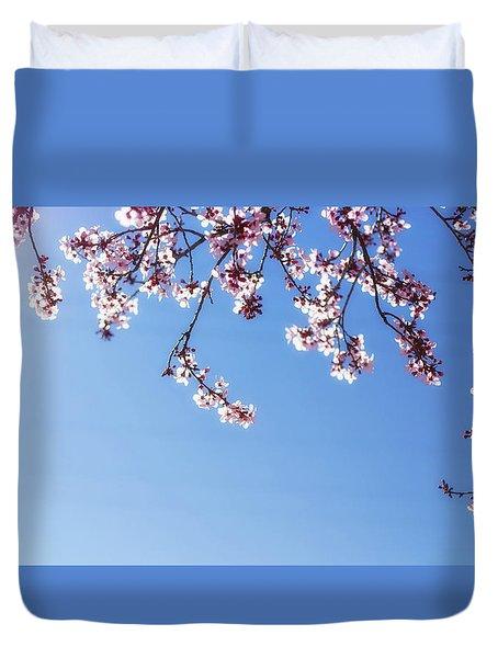 Spring Is Here Duvet Cover