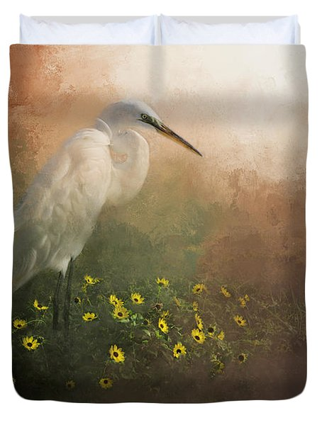 Spring Is Here Duvet Cover
