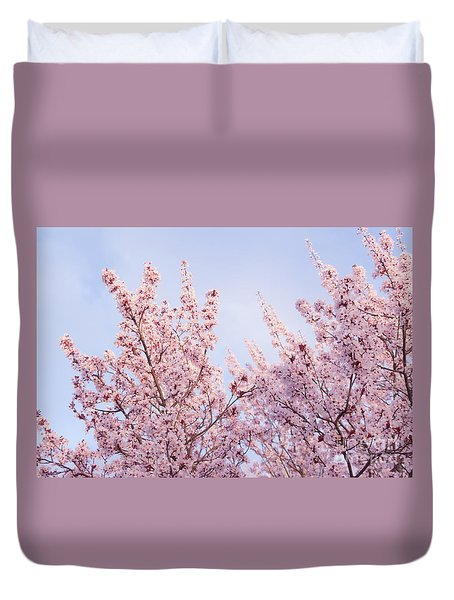 Duvet Cover featuring the photograph Spring Is In The Air by Ana V Ramirez
