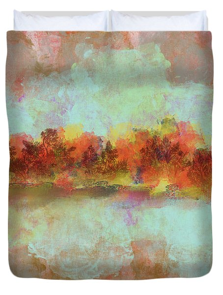 Spring Is Near Duvet Cover by Jessica Wright