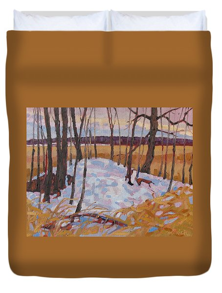 Spring Island Duvet Cover by Phil Chadwick