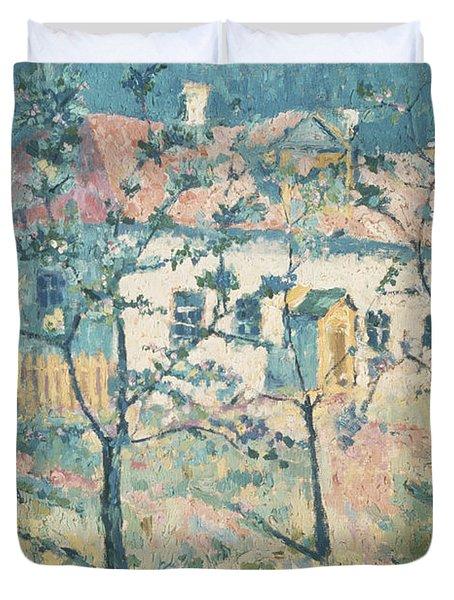 Spring Duvet Cover by Kazimir Severinovich Malevich