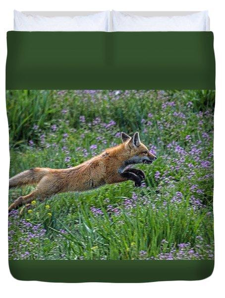Spring Kit Duvet Cover