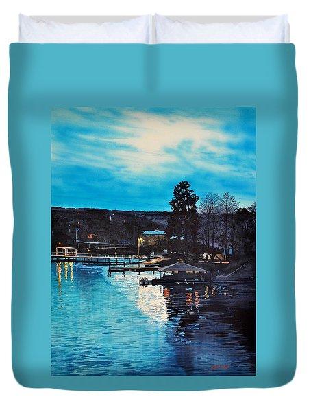 Spring Lake Nocturn Duvet Cover