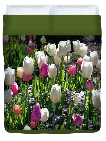 Spring Duvet Cover by Lisa L Silva
