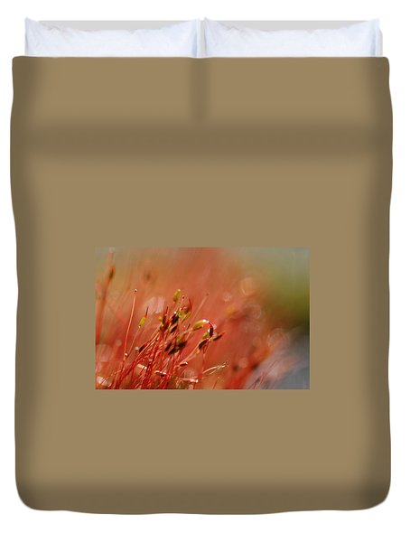 Duvet Cover featuring the photograph Spring Macro3 by Jeff Burgess