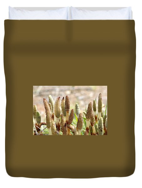 Duvet Cover featuring the photograph Spring Macro4 by Jeff Burgess
