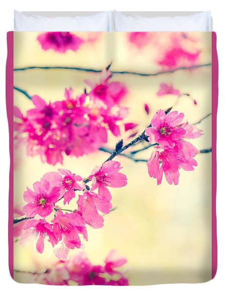 Duvet Cover featuring the photograph Spring Magic by Julie Andel