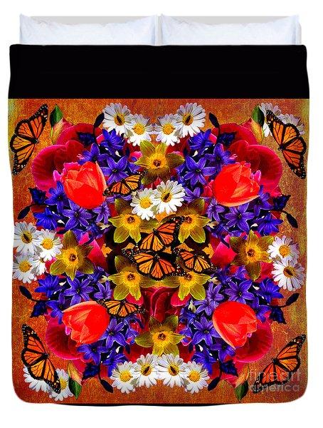 Spring Mandala 2016 Duvet Cover