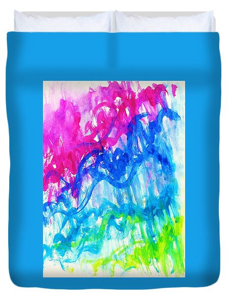 Intuition Duvet Cover by Martin Cline