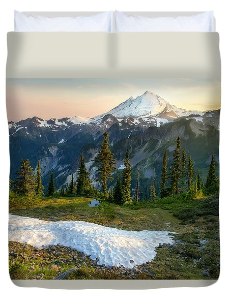 Spring Melt Duvet Cover by Ryan Manuel