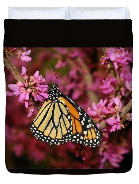 Spring Monarch Duvet Cover