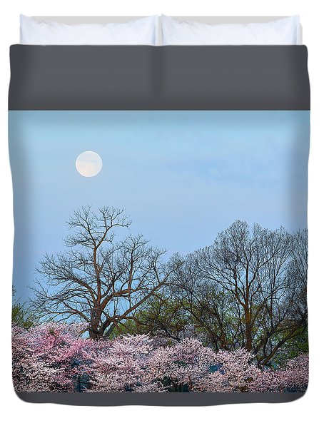 Spring Moon Duvet Cover