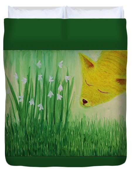 Spring Morning Duvet Cover by Tone Aanderaa