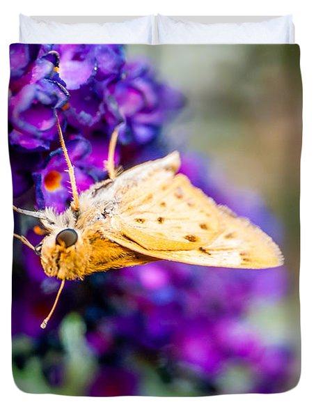 Spring Moth Duvet Cover