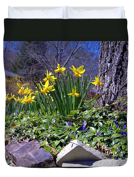 Spring Duvet Cover by  Newwwman