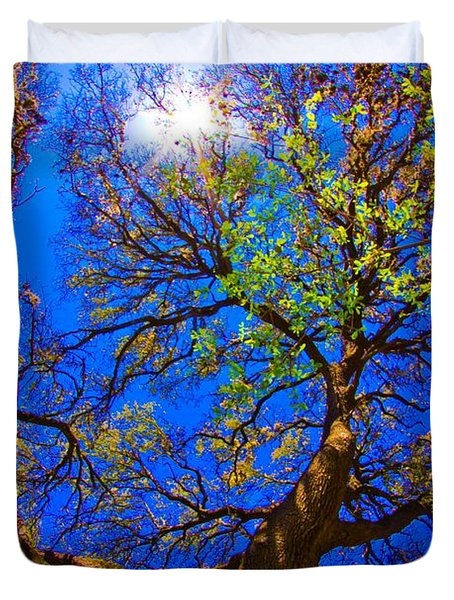 Spring Oak Duvet Cover