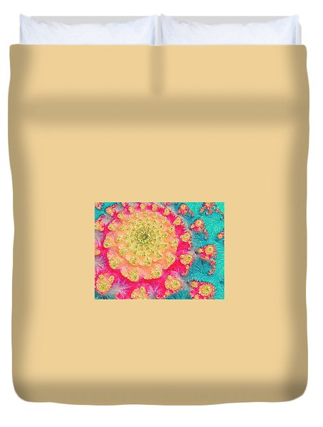 Spring On Parade 2 Duvet Cover by Bonnie Bruno