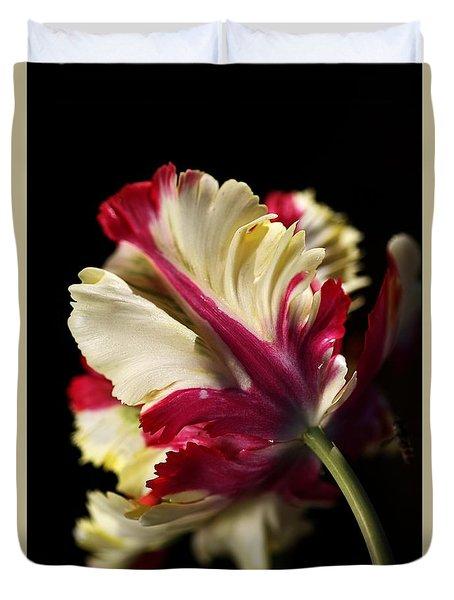 Spring Parrot Tulip Duvet Cover