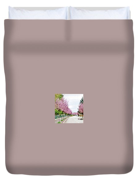 Spring Path Duvet Cover