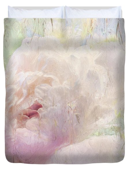 Spring Peony Duvet Cover