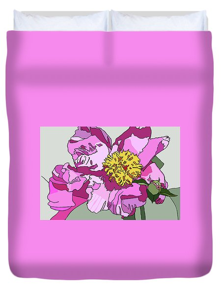 Spring Pink Duvet Cover by Jamie Downs