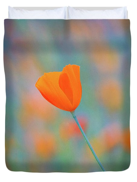 Spring Poppy Duvet Cover