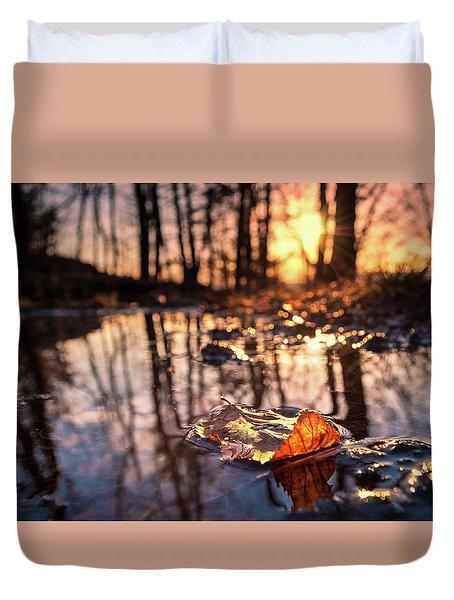 Spring Puddles Duvet Cover