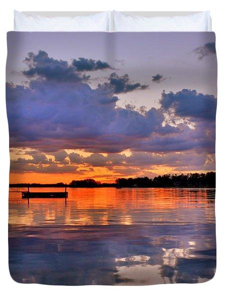 Spring Reflections Duvet Cover