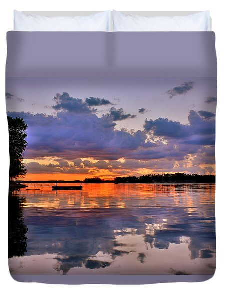 Spring Reflections Duvet Cover
