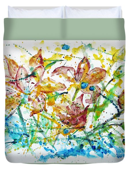 Spring Rhapsody Duvet Cover by Jasna Dragun