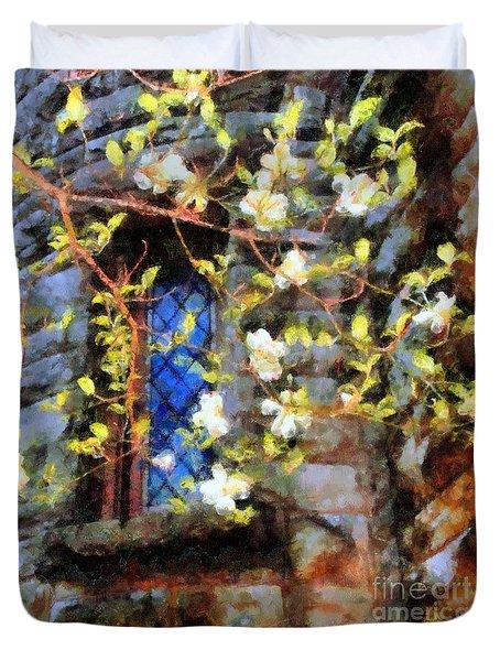 Spring Romance Duvet Cover