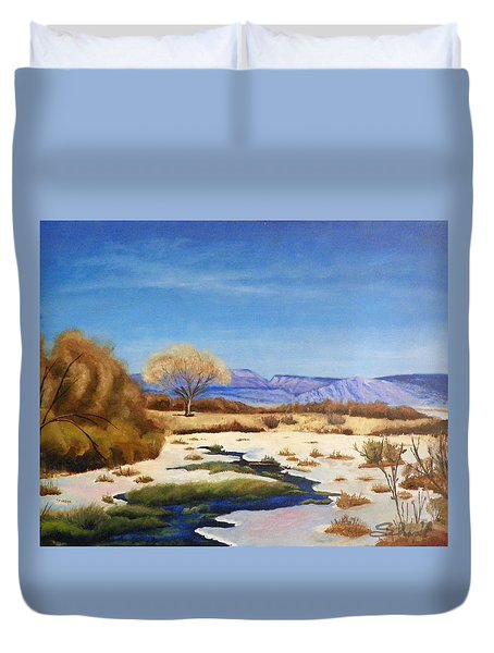 Spring Runoff Duvet Cover