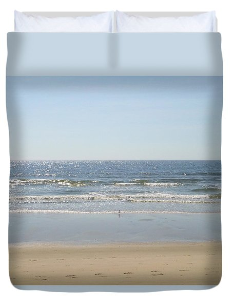 Spring Sea Duvet Cover