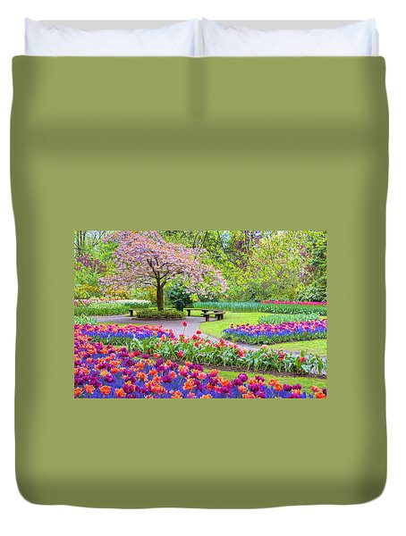 Spring Season Duvet Cover