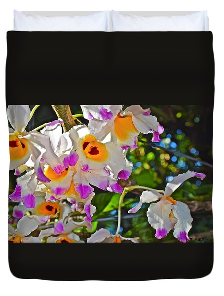 Spring Show 15 Brazilian Orchid Duvet Cover