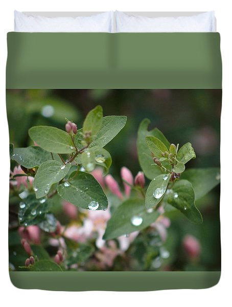 Spring Showers 5 Duvet Cover